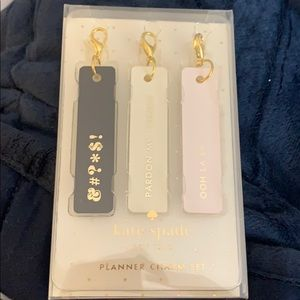 Kate Spade Planner Charms